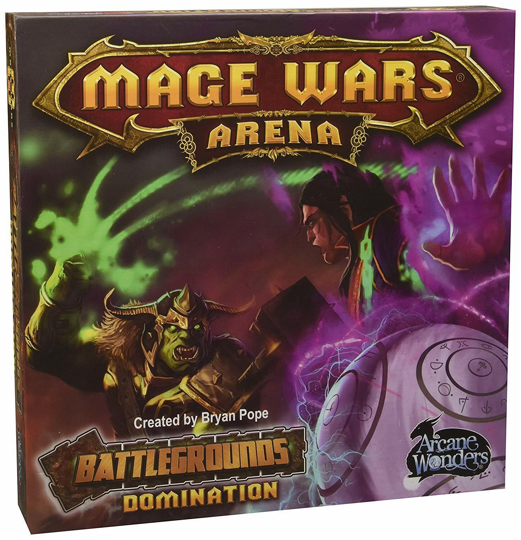 Arcana Maravillas Mage Wars juego de arena campo de batalla aman