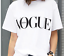 Fashion-girl-short-sleeve-tops-clothes-for-women-Vogue-letter-printed-T-shirt-fo thumbnail 6