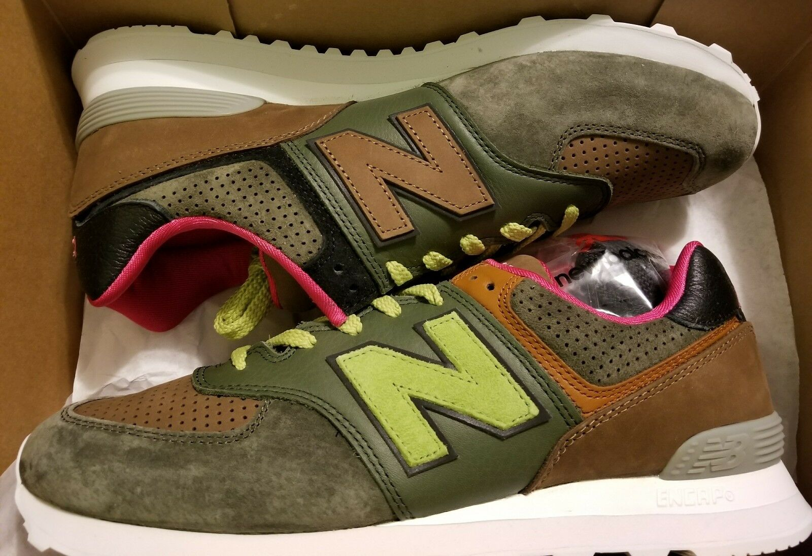 New Balance x Sneakersnstuff ML574SNS Size 11.5 Very Limited In Hand!!!