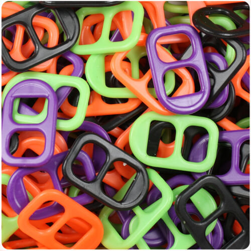 2oz Plastic Soda Pop Tabs Made in the USA 34 Different colors//combinations