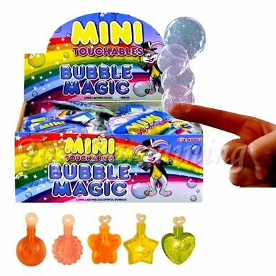 MINI MAGIC TOUCHABLE BUBBLES BOYS GIRLS TOY FAVOR LOOT BIRTHDAY PARTY BAG FILLER