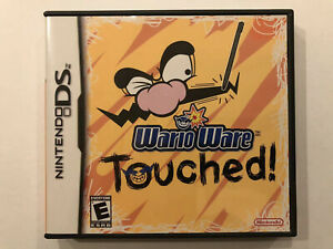 Wario-Ware-Touched-Nintendo-DS-Complete-w-Case-amp-Manual-Authentic