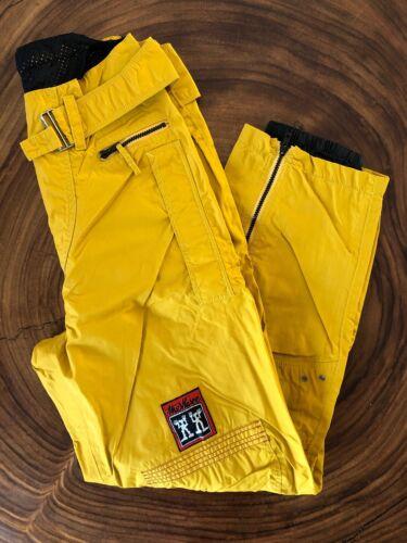 JET SET The Wave Ski Pants Men Size 3 Mustard Yell