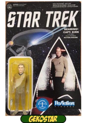 Action- & Spielfiguren Star Trek ReAction Action Figure Phasing Captain Kirk