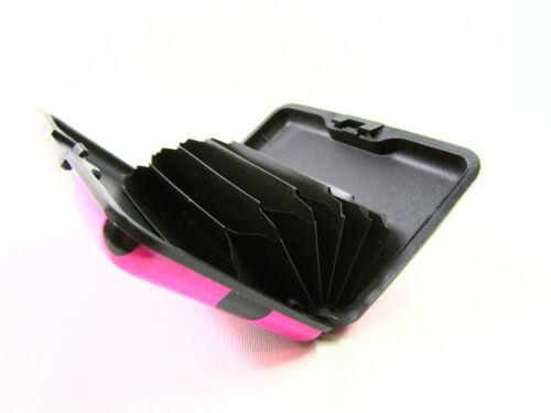 ALLUMINIO METALLO portafoglio carte di credito titolare Business ID RFID blocco portafoglio Pouch
