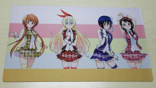 E15 Free Mat Bag Niseikoi Playmat Anime Card Games Play Mat Large Mouse Pad