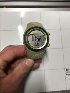 GARMIN-FORERUNNER-405-TRAINING-GPS-WATCH-LIGHT-GREEN-WATCH-7923B-Rare