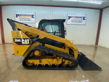 2014 Cat 299d Cab Skid Steer Track Loader With Ac And Heat High Flow