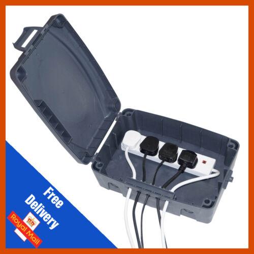 Eagle IP extérieure 54 cotés connexion électrique Boîte Lights Main Power Socket