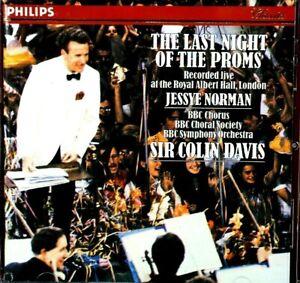 The Last Night Of The Proms - Norman, Davis  -  CD, VG