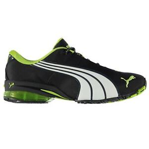 Puma-Homme-JAGO-ST-Ripstop-Running-Baskets-Chaussures-Basses-a-Lacets-Motif-a-rayures