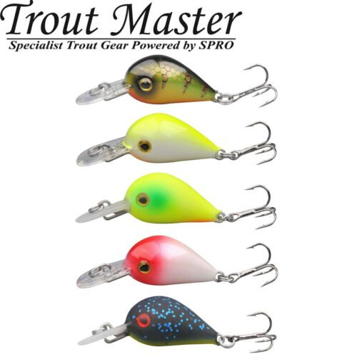 Trout Master Punto Wobbler 2,5cm 2,5g Forellenwobbler Barschwobbler