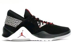 1b5e9cb5f068 Nike Jordan Flight Fresh PREM Men s Sz 10 Shoes Low Black Red AH6462 ...