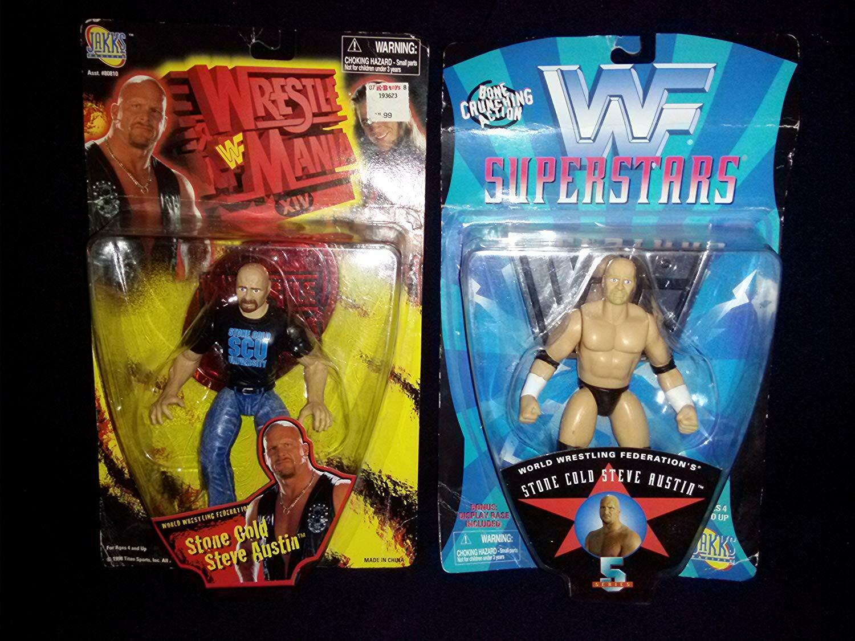 Stone Cold Steve Austin Wwf Lucha Manía XIV & WWF hueso crujir Figura De Acción