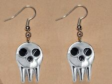 Soul Eater Lord Death Earrings Jewelry Shinigami-sama Japanese Anime Manga