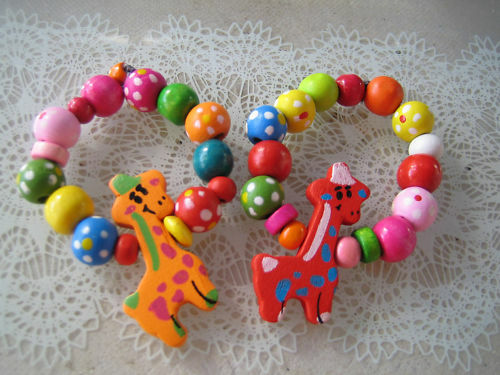 Perle-Bastelset pour enfants-CHOUCHOU//BRACELET