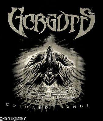 GORGUTS cd cvr COLORED SANDS Official SHIRT XL new