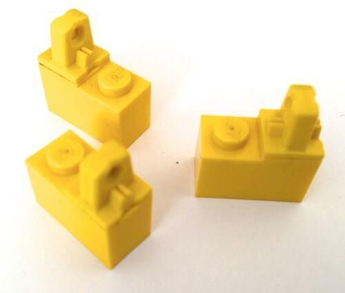 Lego Hinge brick 1x2 locking 1 finger on top 4 in pack pt 989 choose colour