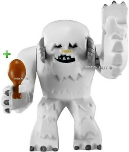 LEGO-STAR-WARS-ANIMALS-BIG-FIGURE-HOTH-WAMPA-CHICKEN-LEG-RARE-8089-NEW