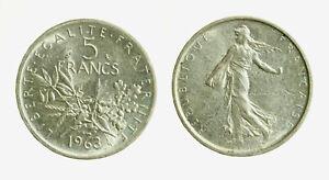 pcc2128-80-FRANCIA-5-FRANCHI-1963-ARGENTO