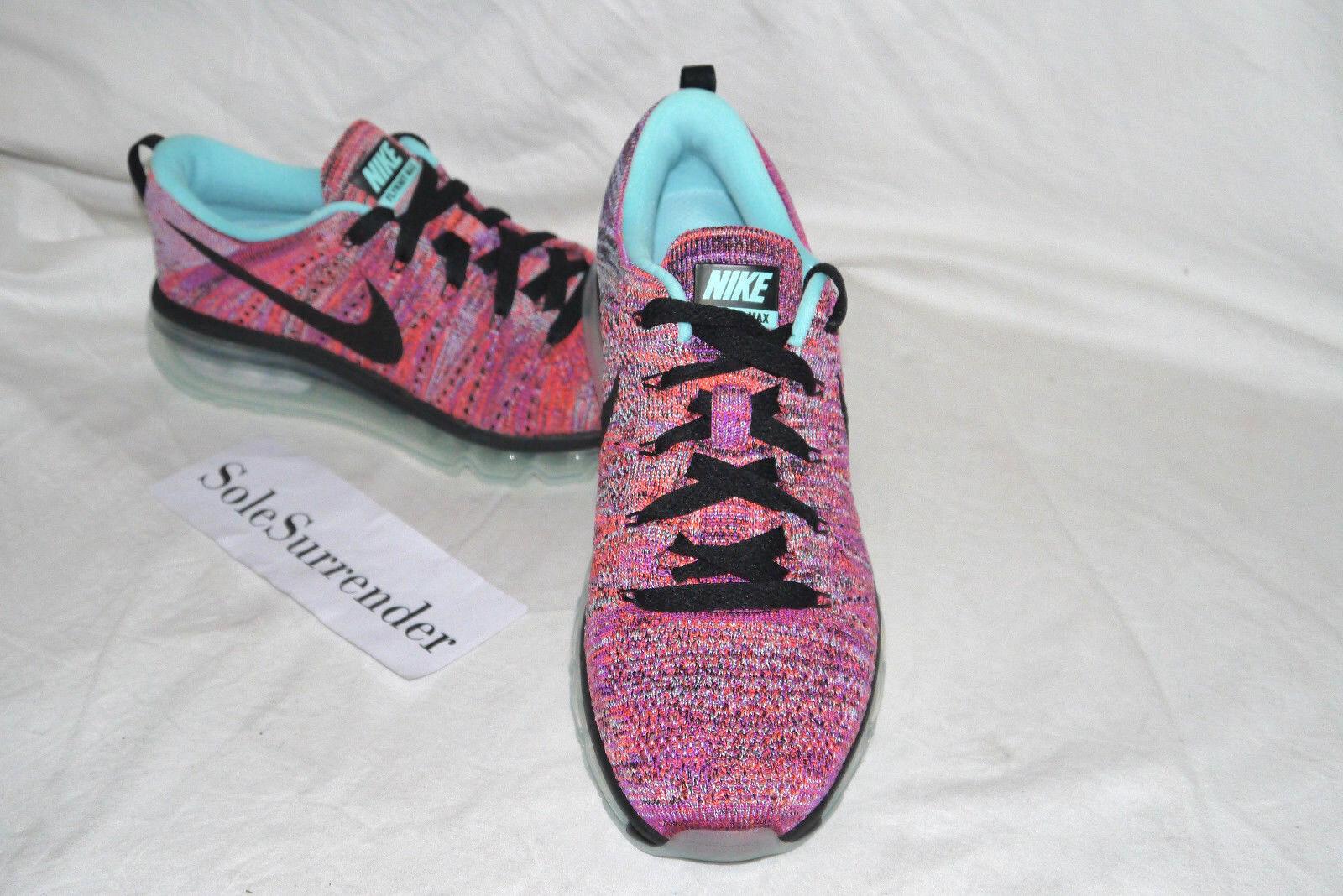 b346a96c2b17 ... Women s Nike Flyknit Max Max Max - CHOOSE SIZE - 620659-009 Black Pink  Purple ...