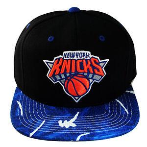 Mitchell   Ness NBA New York Knicks Snapback Hat Graffiti Pattern ... f49fae03d66