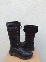 Ugg Tall Adirondack Ii Exotic Velvet Waterproof Sheepskin Boots, Sz Us 7.5