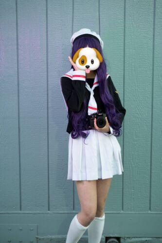 CARD CAPTOR SAKURA Cosplay Costume Girl Sailor Sch