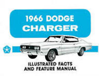 1966 Dodge Charger Fact Feature Manual