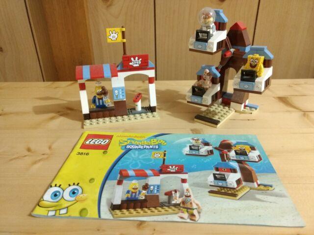 LEGO 3816 SpongeBob SquarePants Glove World (Complete)