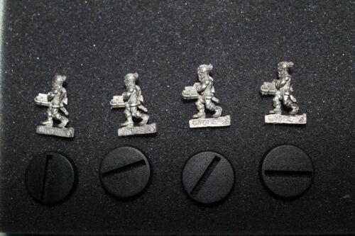 4x Gnom Schütze Zinn Miniaturen Ad&d Dungeons & Dragons D & D Film- & TV-Spielzeug