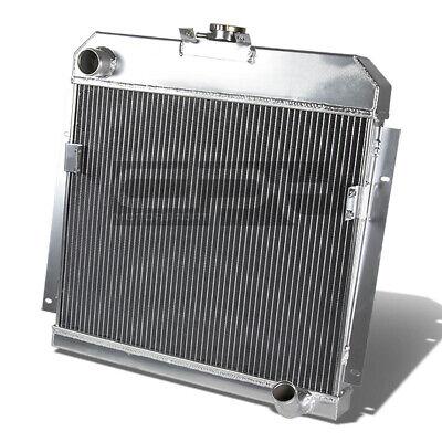 3-ROW FULL ALUMINUM RACING RADIATOR FOR 1953-1954 DODGE MOPAR//6CYL//CHEVY SBC