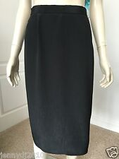 EXPRESSIONS SIZE 10 -12 BLACK SHINY PENCIL PARTY SKIRT IN EXCELLENT CONDITION.