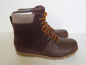 88fc1ec005e Details about UGG mens Halfdan brown outdoor boots 17 6