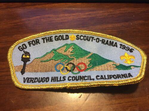 1996 Verdugo Hills Council Olympics CSP
