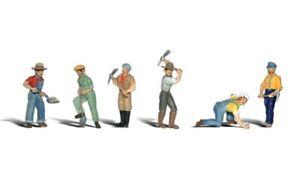 N-Woodland-Scenics-A2148-Figuren-Set-Track-Workers-neu-OVP
