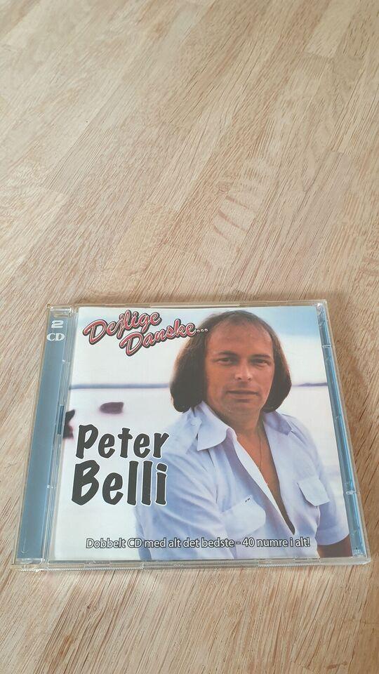 Peter Belli: Dejlige Danske... (Dobbelt Album), rock