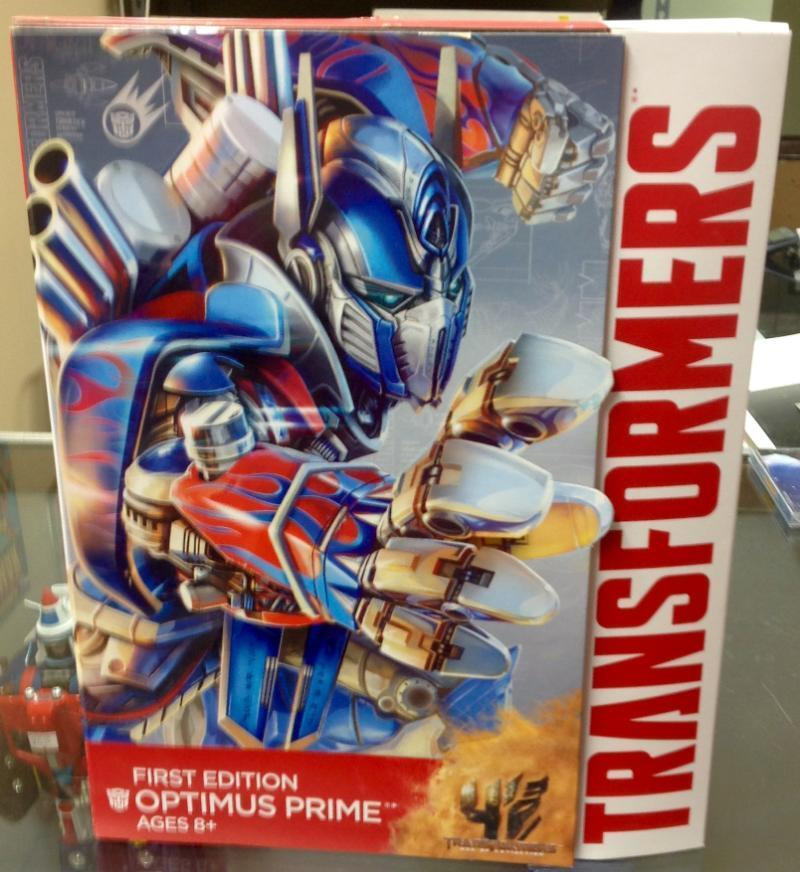 Transformers Leader Class Optimus Prime Age of Extinction First Edition Ages 8+