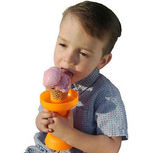 Set of 6 Dripstik No Mess Ice Cream Cone /& Frozen Treat Holders K192-6
