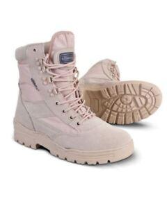 Kombat-Ejercito-Botas-Desierto-Patrulla-Cadete-Combate-Tacticas-De-Trabajo-Seguridad-Militar-UK