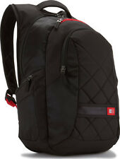 """Case Logic 16"""" Laptop Notebook Rucksack Backpack Case DLBP116 Black BRAND NEW"""