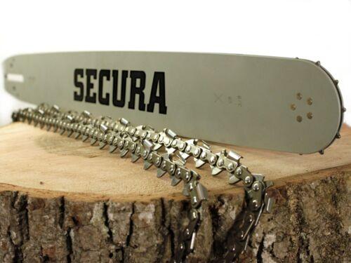 """Schwert 325/"""" passend Stihl 028 AV 028AV Super 50cm 2 Ketten"""