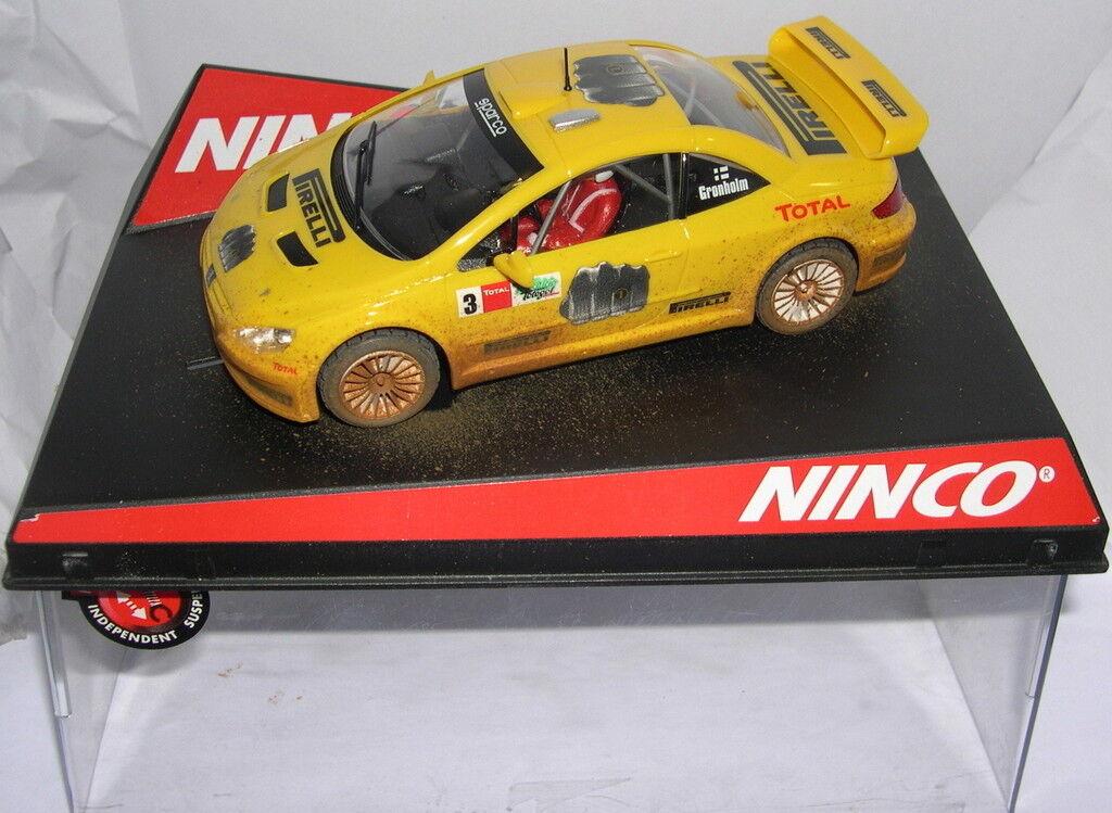 NINCO 50367 SLOT CAR PEUGEOT 307 WRC  3 PIRELLI  SCHLAMM  M.GRÖNHOLM MB
