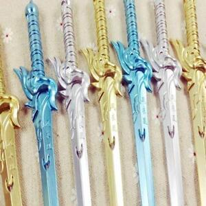 Nette-Schwert-Gel-Pen-Kawaii-Schreibwaren-Schulbedarf-Buero-Zubehoer-Stifte