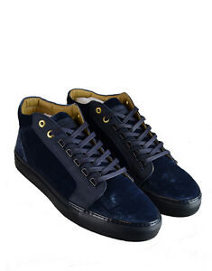 9985b5a0438 Details about Men s Android Homme  Propulsion  Mid Top Sneakers Navy  (AHFW001)