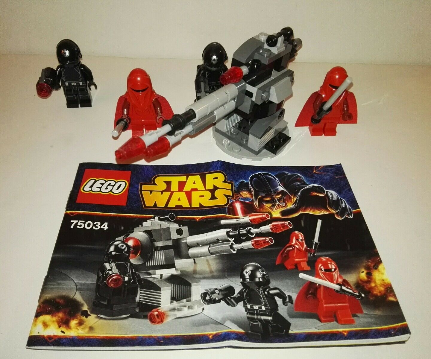 LEGO Star Star Star Wars Death Star Troopers (75034) Microfighters 81bdd1