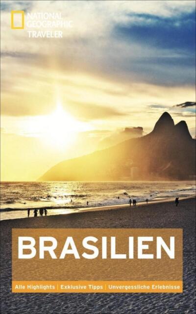 Reiseführer Brasilien National Geographic Traveler  Auflage 2014 loose