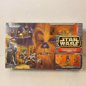 Star-Wars-Micro-Machines-Chewbacca-Endor-Transforming-play-Set-Galoob-1995-New