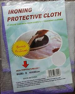 2 De Protection Maille Repassage Tissu Protéger Fer Délicate Vêtement Vêtements Violet-afficher Le Titre D'origine Ferme En Structure