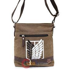 Attack on Titan Canvas Messenger Bag Small Canvas Anime Shoulder Cross Bag-Belt